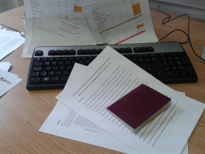 Navigating the paperwork minefield...